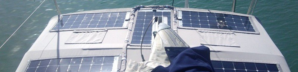 Solbian High Power Flexible Solar Panels for boats, yachts, marine applications,