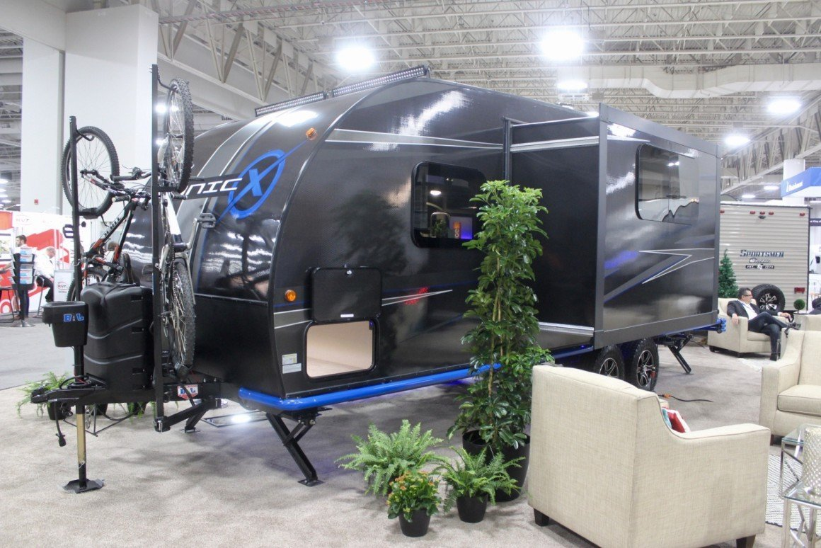 Sonic X Solar Camper from KZ Recreational Vehicles adds a little more self-sustainability to the camping trailer world.